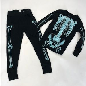 GAP Glow in the Dark Skeleton Pajamas
